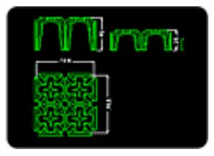 Planta y sección de los Multimódulos H13 – H17 – H25 – H40